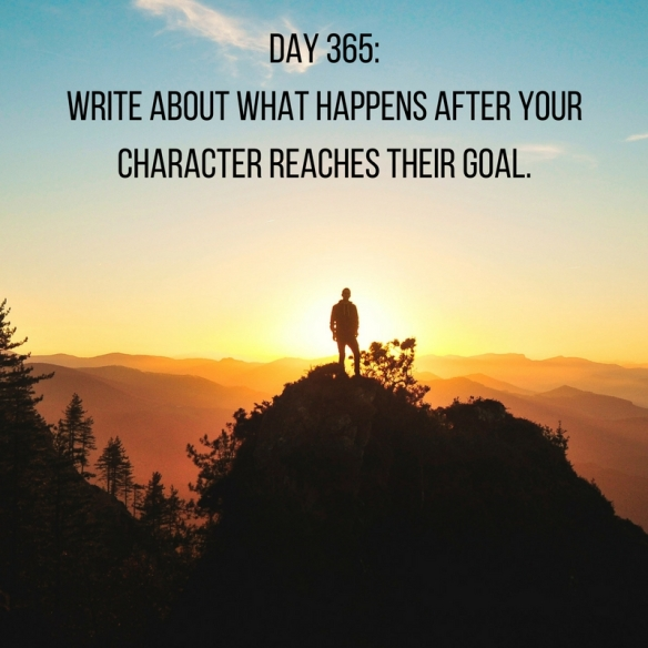 Writing Prompts: Day 365
