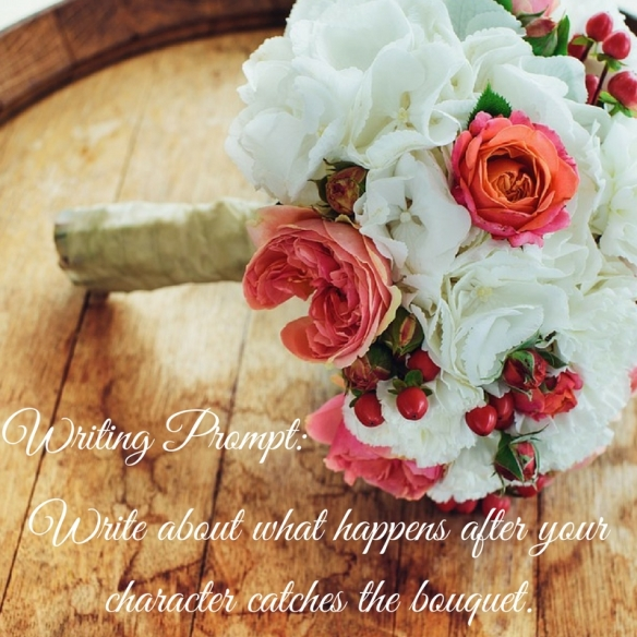 Write about what happens after your character catches the bouquet..jpg